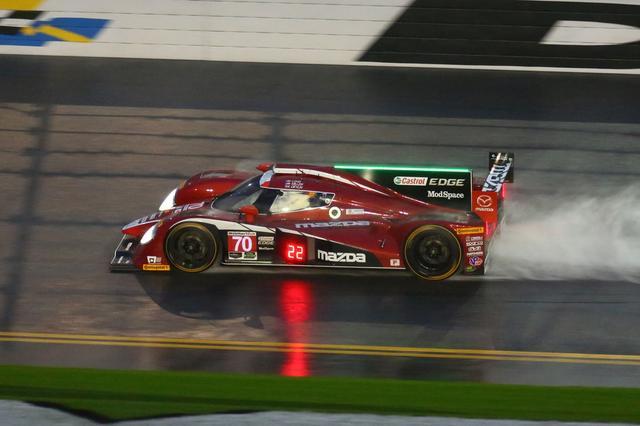 画像: マツダモータースポーツ情報サイト - マツダ・プロトタイプ、土砂降りの予選を通過。デイトナ24時間レース公式予選|MZRacing(エムゼット レーシング)
