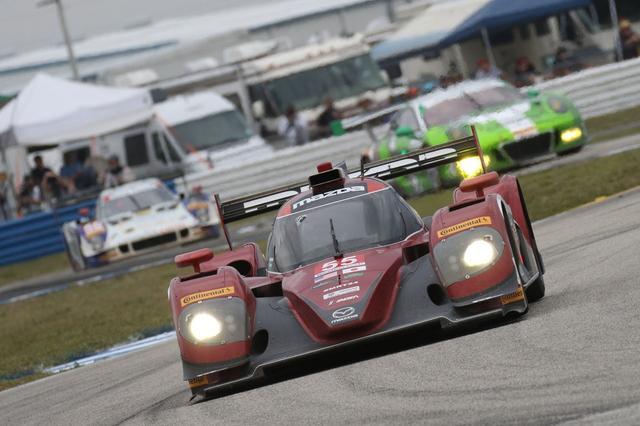 画像: マツダ・モータースポーツ、2台体制で挑んだセブリング12時間でトップ10フィニッシュ