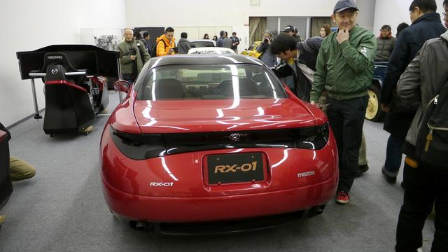 画像: 1995年の東京モーターショーに出展されたREコンセプトカー RX-01