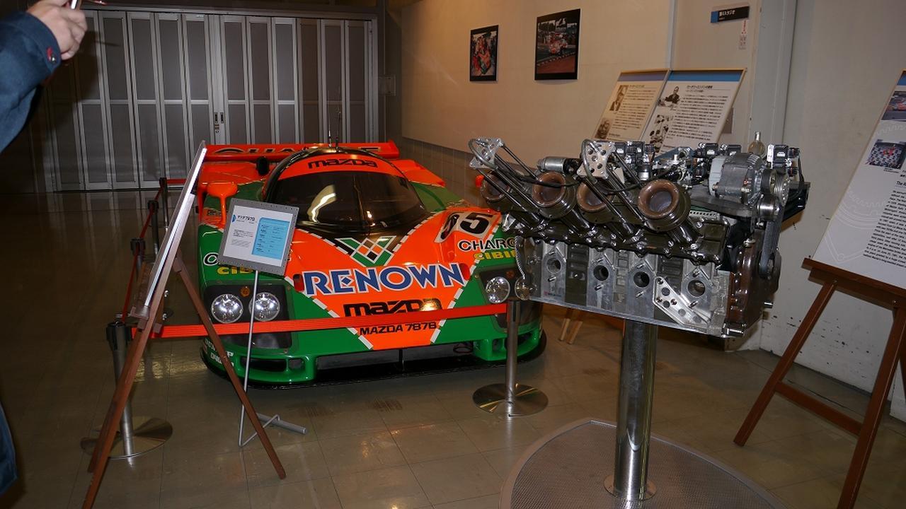 画像: マツダ787BとR26Bエンジンの2ショットはMRYならでは
