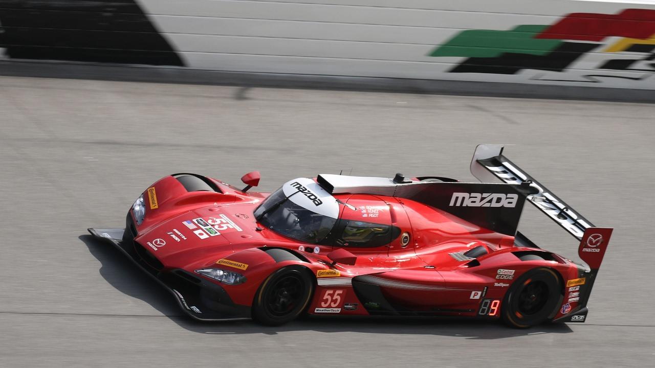 画像: Mazda RT24-P makes its debut in Daytona 24 hours 2017 youtu.be