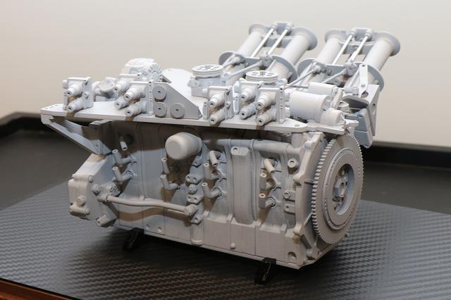 画像1: 【続報】 R26Bエンジン1/6スケール精密モデル