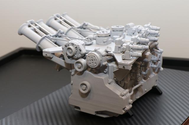 画像2: 【続報】 R26Bエンジン1/6スケール精密モデル
