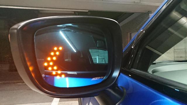 画像: [マツダ CX-3]MZRacing マルチファンクションLEDブルーミラー