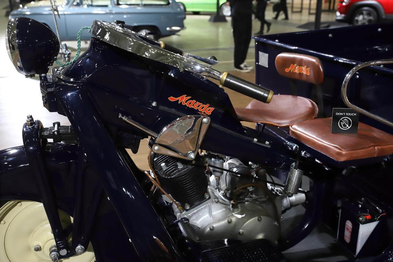 画像: エンジンは空冷式669cc、最大出力13.7ps、最大トルク3.5kg