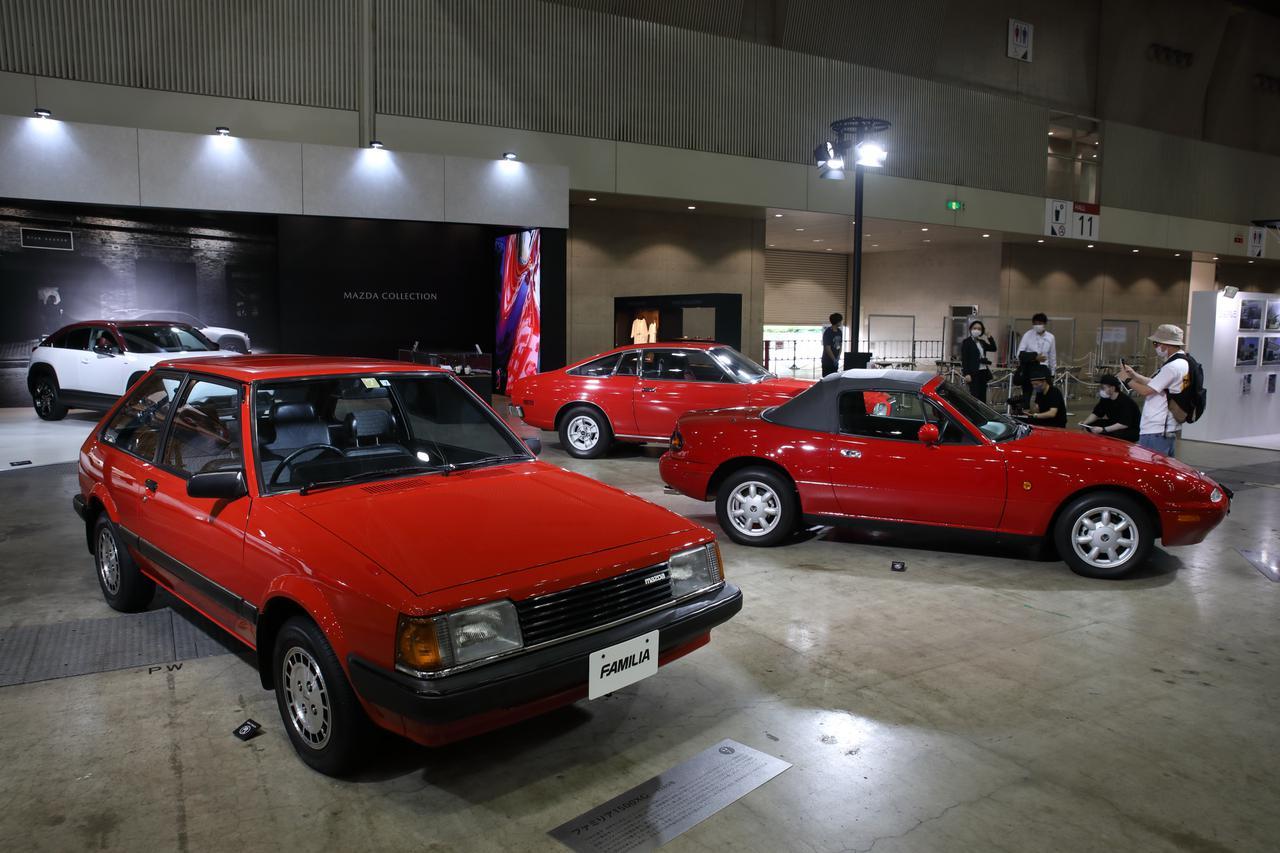 画像1: AUTOMOBILE COUNCIL 2020 マツダ車展示