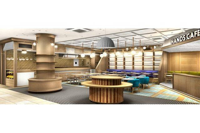 画像: 東急ハンズ新業態が東日本に初進出 オモハラ「ハンズ ビー」にカフェ併設店オープン