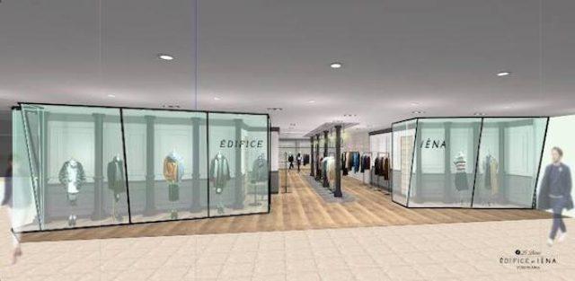 画像: 「エディフィス」「イエナ」複合の「ルドーム エディフィス エ イエナ」横浜店がリニューアルオープン