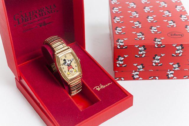 画像: ロンハーマンが、レトロ感たっぷりの「Mickey Mouse」の腕時計を特別オーダー。
