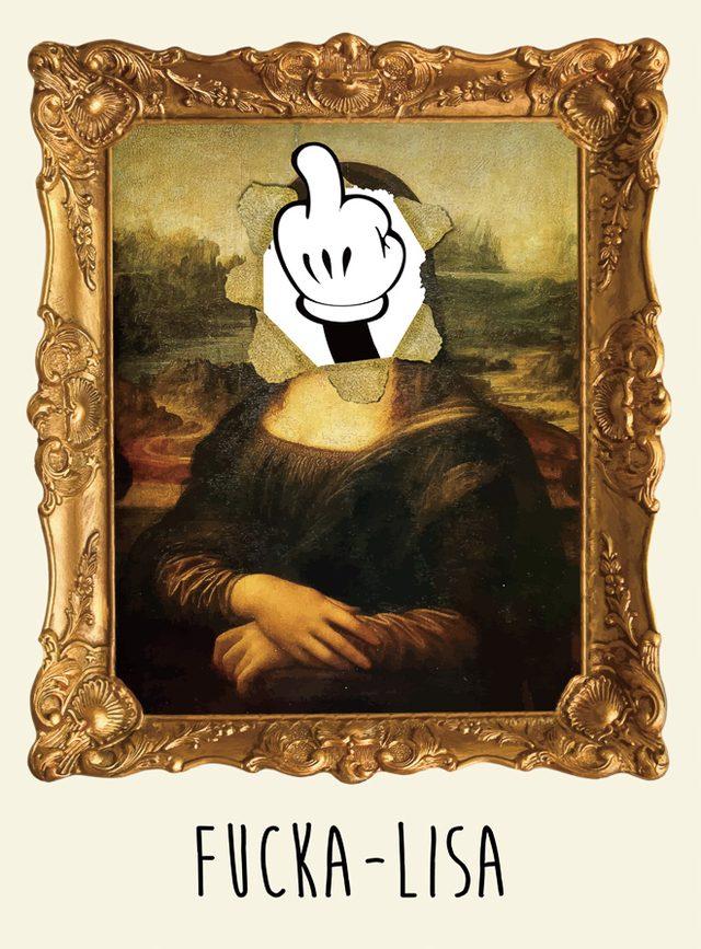 """画像: """"皮肉""""アートで話題、ファック アート アンド キスが初のアート展開催"""
