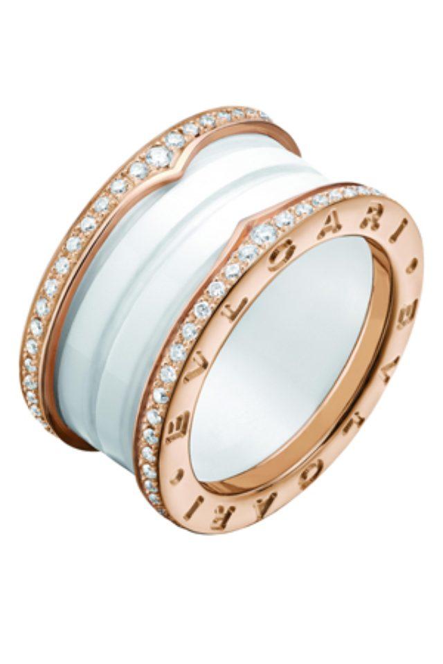 画像: ブルガリのアイコン「ビー・ゼロワン」にダイヤモンドが煌めく新作モデルが登場。