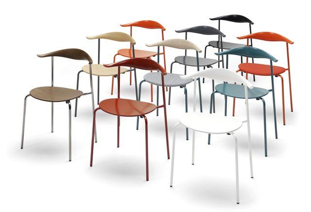 画像: ハンスJ.ウェグナーの名作椅子「CH88」に新たなカラーバリエーションが登場。