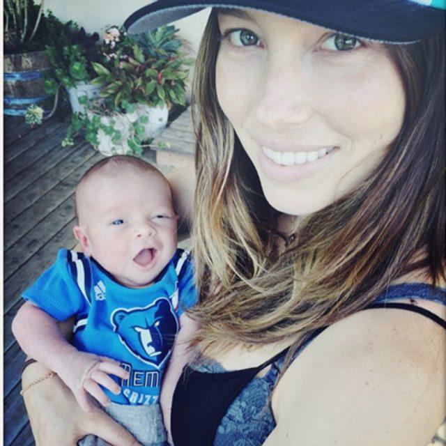 画像: ジャスティン・ティンバーレイク、愛息子の写真を初公開!