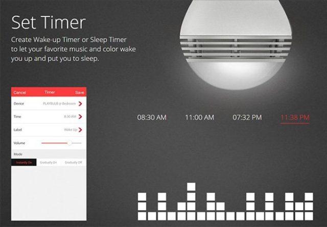 画像: 電球から音楽が聴こえる♪音響機能を搭載したスマートライトでステキな空間作り