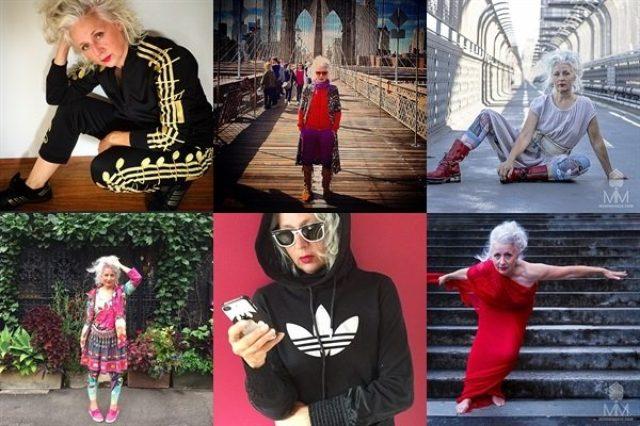 画像: おしゃれなおばあちゃんサラジェーン・アダムスのInstagramが素敵♪