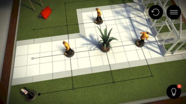 画像: リアルなジオラマがすごい!警備員の目をかいくぐるステルスパズル『Hitman GO』