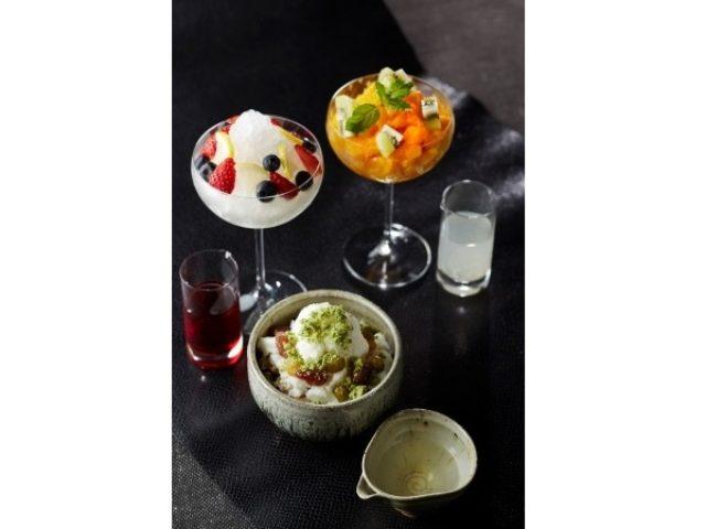 画像: ホテルのバーで愉しむ「大人のかき氷」。きらめく美味しさを召し上がれ!