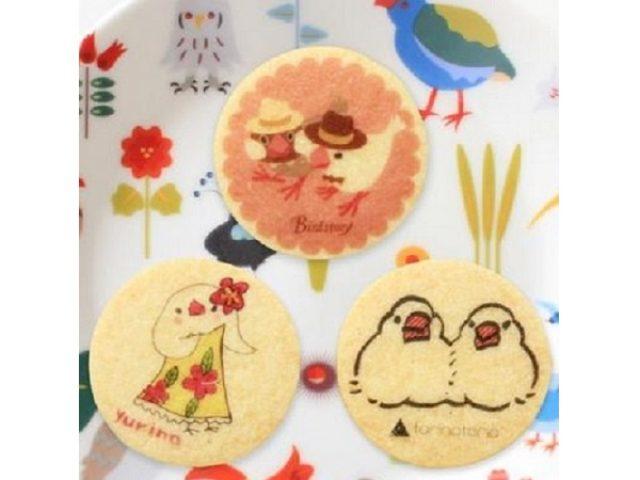 画像: フラガール姿の文鳥がなんともキュート!「ことりカフェ」の新作クッキーが可愛すぎる