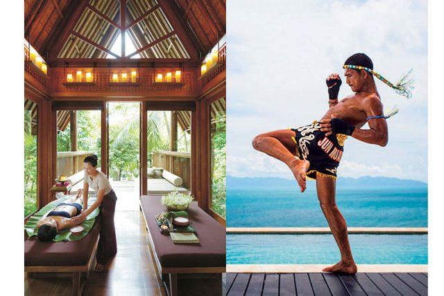 画像: サムイ島の「フォーシーズンズ リゾート」で極上のムエタイ体験を。