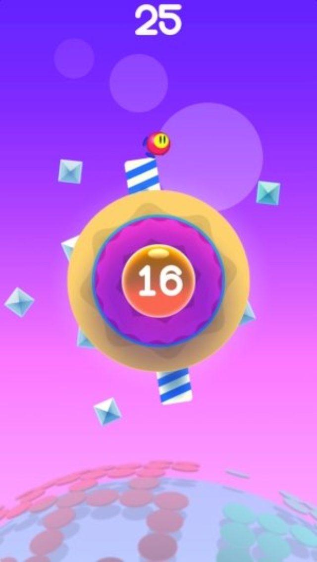 画像: サークル世界でエンドレスにジャンプ!とってもかわいい癒やし系ランゲーム『Circle Frenzy』