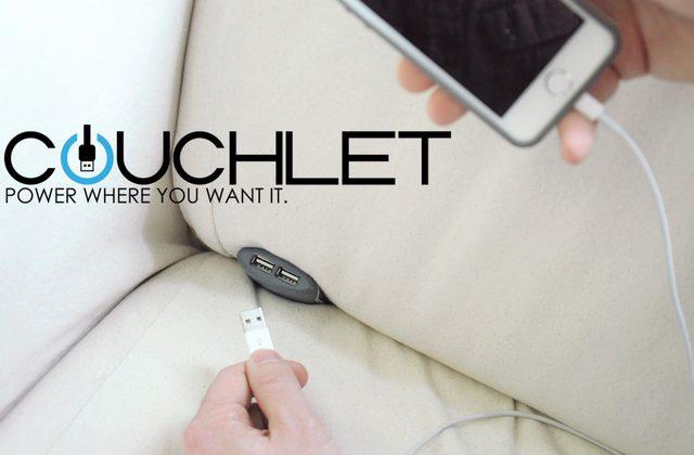 画像: これは便利!ソファーやベッドに据え付け可能なスマホ充電器