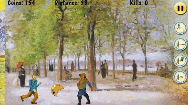 画像: アートファン号泣!巨匠ゴッホが猛ダッシュするおもしろアクションゲーム
