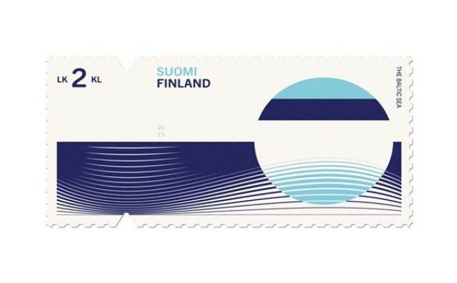 画像: シンプルで美しい!各国を表現した切手が話題に