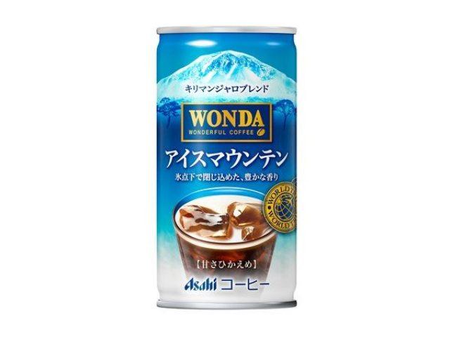 画像: 豆本来の豊かな香りを氷点下で凝縮!!ワンダより「アイスマウンテン」登場