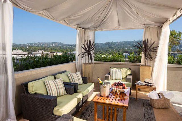 画像: ハリウッドセレブ御用達、ビバリーヒルズの隠れ家ホテル。