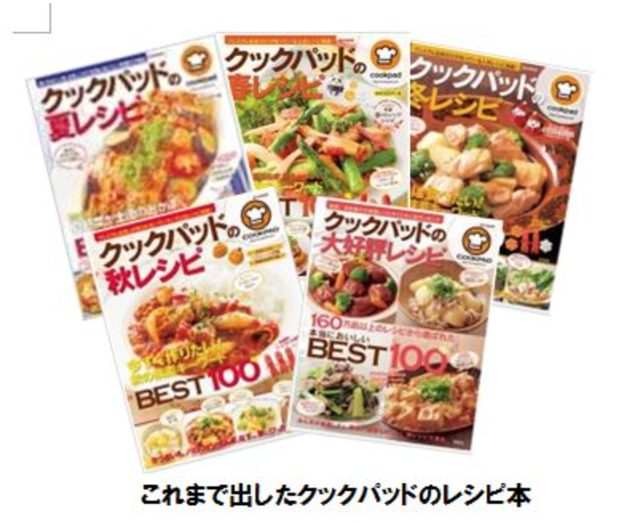画像: 初の定期料理生活誌「クックパッドmagazine!」が誕生!