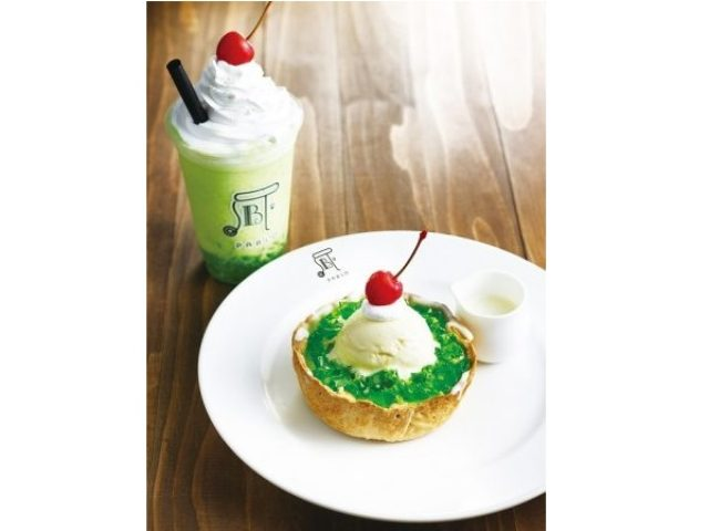 画像: PABLOからクリームソーダをイメージしたタルト&フルーテ登場!懐かしく爽やかになれる初夏のスイーツ