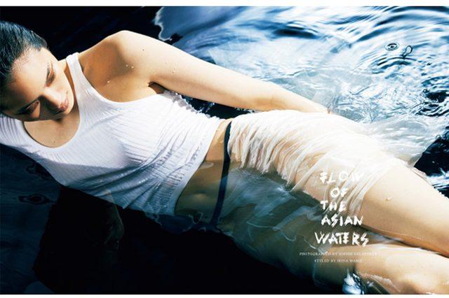 画像: 日本人トップモデルがみせるその脚線美。