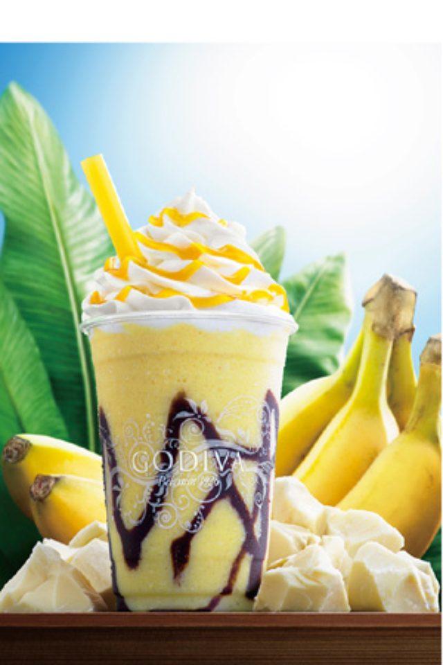 画像: 南国リゾートに誘う、ゴディバの「ショコリキサー ホワイトチョコレート バナナ」が発売に!