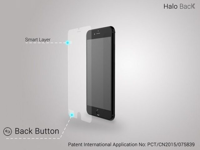 画像: 超便利![前のページに戻る]機能を備えた保護フィルム『Halo Back』