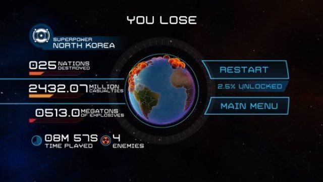 画像: もしも核戦争が勃発したら?戦慄のシミュレーションゲーム『First Strike 1.2』