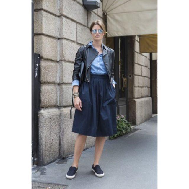 画像: 夏は短め丈が気分! ミラネーゼのプレイフルなスカートスタイル。