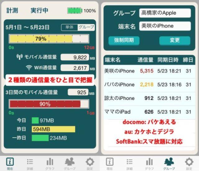 画像: おすすめの通信量チェッカーアプリまとめ【機能重視のシンプル編】
