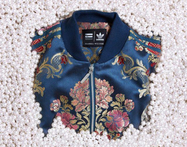 画像: adidas Originals = PHARRELL WILLIAMSからフローラル刺繍が魅力的な新作ジャケットとスタンスミスが登場!