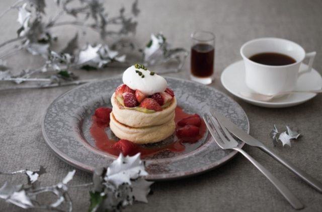 画像: クリスマスベリーパンケーキ
