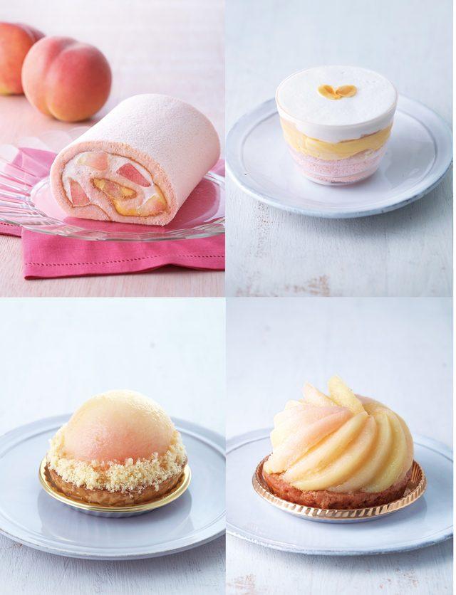 画像: 上品な甘さと甘い香り、みずみずしさが魅力!旬の白桃を使ったスイーツ4種類が登場!