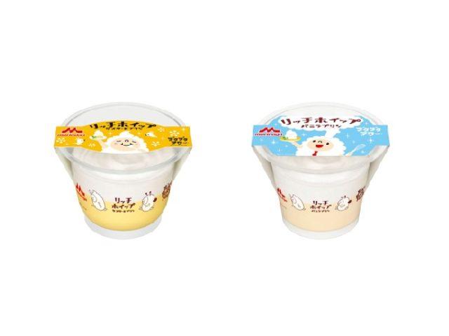画像: ホイップクリームが特盛のプリンと、泡の妖精「ブクブクアワー」がコラボして2種類を新発売!!