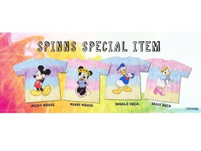 画像: 夏フェスやバカンスに!スピンズのディズニーBIGTシャツがカワイすぎる!!