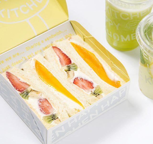 画像: ジューススタンド「ハッピーホームキッチン」に、夏の新作「トロピカルフルーツサンド」がデビュー!