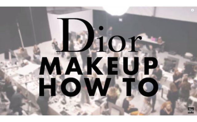"""画像: 週末の""""お出かけメイク""""はこれで完璧!Diorのメイクアップ動画チャンネルがスゴイ!"""