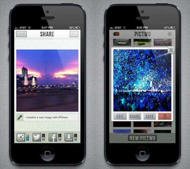画像: Instagramで使える!2枚の写真を重ねて幻想的な写真を作る『Pictow』