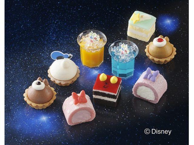 """画像: ディズニー・キャラをモチーフにしたプチケーキセットに涼やかな""""七夕""""バージョン登場!"""