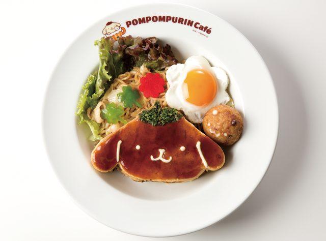 画像: 梅田限定メニュー 祭りだ!わっしょいお好み焼きプレート 990円