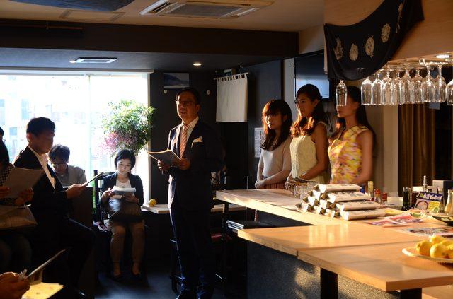 画像: 共和エージェンシー田中社長から主旨説明が行われました