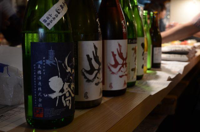 画像: ご当地の日本酒勢揃い!