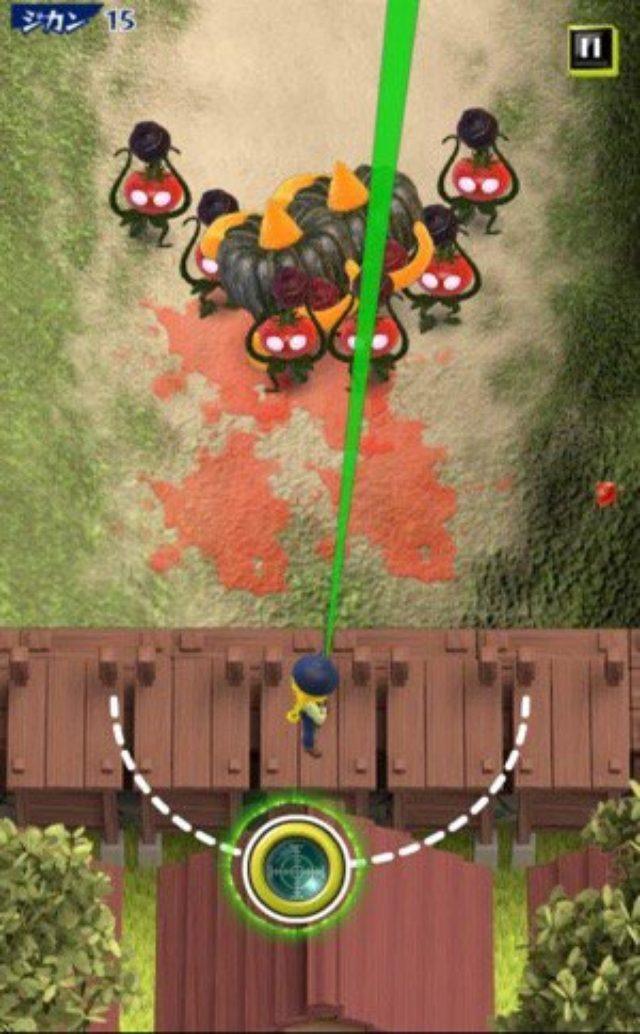 画像: 飛び散る血飛沫...もとい野菜汁の嵐!野菜VS農家の防衛シューティング『キルベジ』